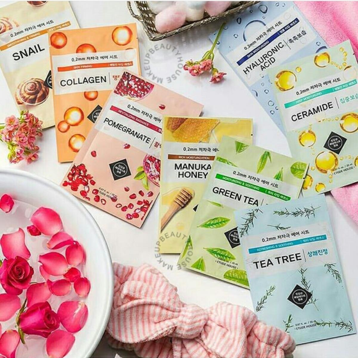 02 Mm Therapy Air Mask Sheet Makeup Beauty House Etude 3 Pcs Prev Next
