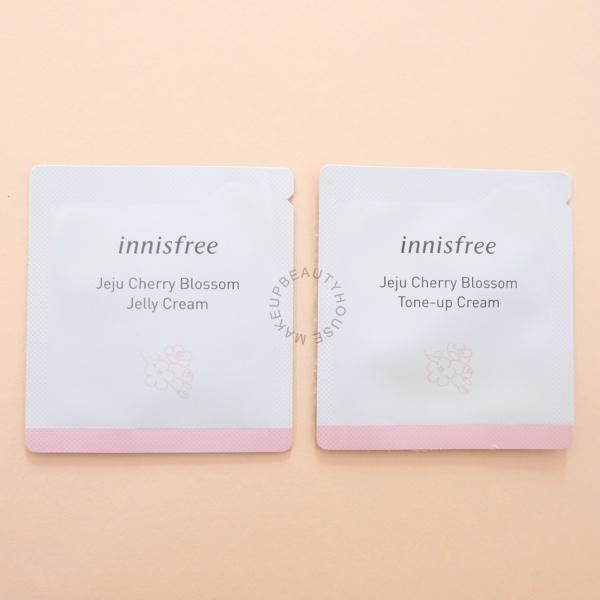 Jeju Cherry Blossom Tone up Cream / Jelly Cream 1ml