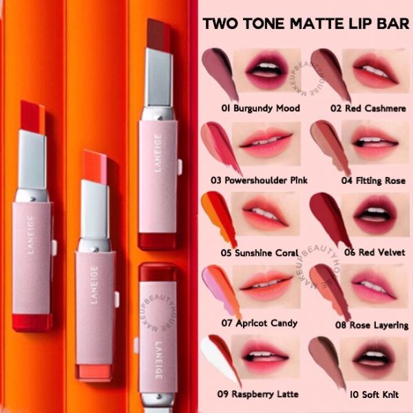 Two Tone Matte Lip Bar