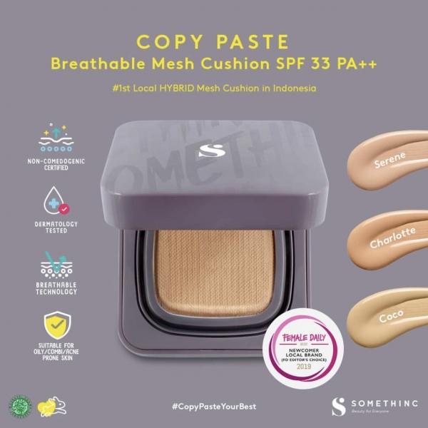 SOMETHINC Copy Paste Breathable Mesh Cushion SPF 33 PA++