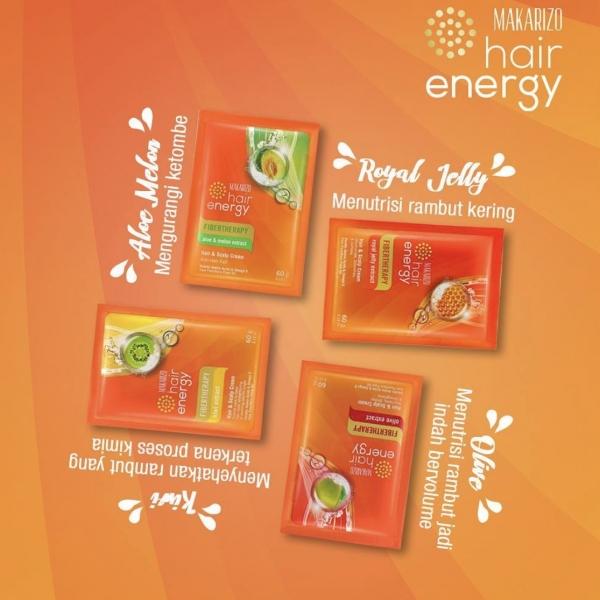 Hair Energy Fibertherapy Hair & Scalp Creambath 30g/60g