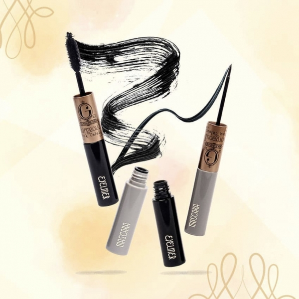 MADAME GIE Gorgeus Wink Celebs Mascara Eyeliner 2 in 1 - MakeUp Waterproof