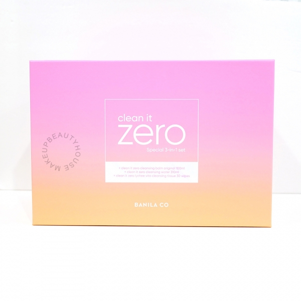 Clean It Zero Special 3 in 1 Set (Cleansing Balm, Water, Tissue)