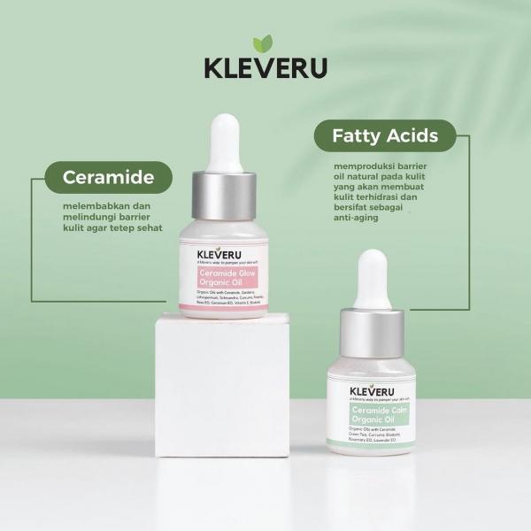 KLEVERU Ceramide Glow Organic Oil / Ceramide Calm Organic Oil - 5ml / 15ml