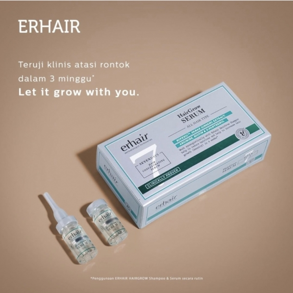 Double Hairgrow Serum 7x8 ml - Serum Rambut Rontok