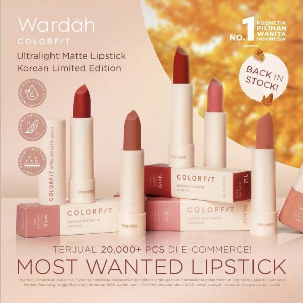Colorfit Ultralight Matte Lipstick 3.6gr