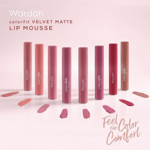 Colorfit Velvet Matte Lip Mousse 4gr