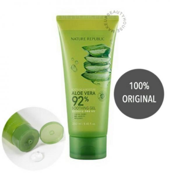 Soothing & Moisture Aloe Vera 92% Soothing Gel (Tube)