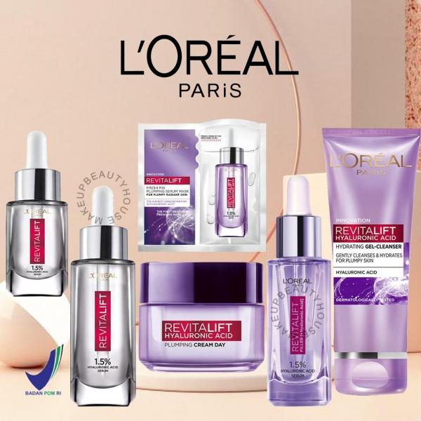 LOREAL PARIS Revitalift Hyaluronic Acid - Serum | Cleanser | Cream