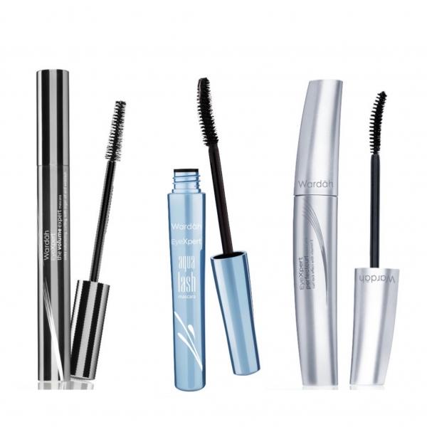 WARDAH EyeXpert The Volume Expert / Aqua Lash / Perfect Curl Mascara