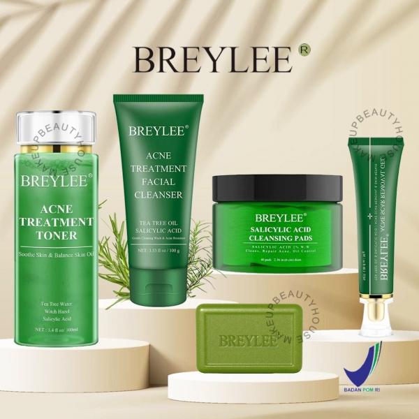 [BPOM] BREYLEE Tea Tree Series - Cleanser | Soap | Toner | Gel | Cleansing Pad