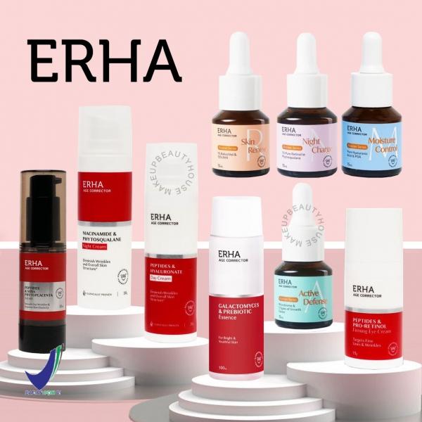 ERHA Age Corrector Series - Anti Aging (Essence/ Serum/ Eye Cream/ Day Cream/ Night Cream/ Booster)