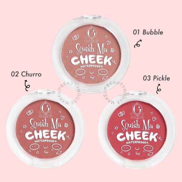 MADAME GIE Squish Ma Cheek - MakeuUp Blush On