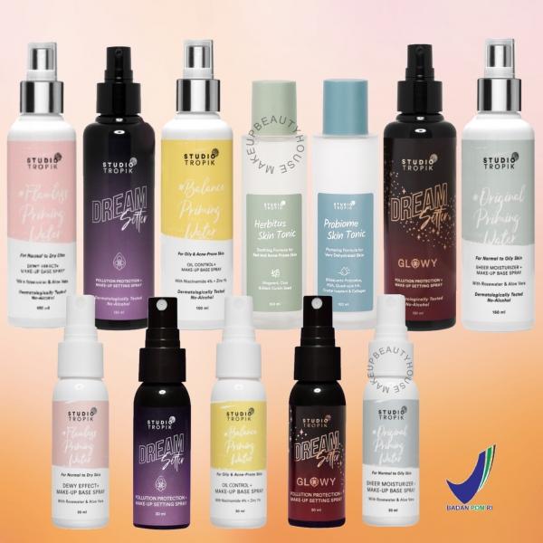 Priming Water Makeup Base Spray / DreamSetter / Herbitus / Probiome Skin Tonic