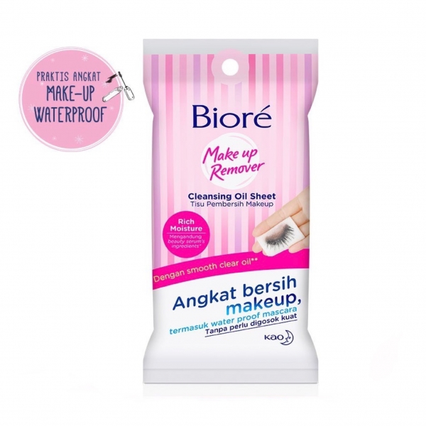 Make Up Remover Cleansing Oil In Sheet (10 lembar)