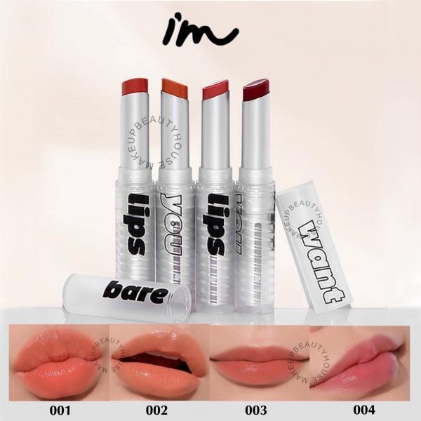 [BPOM] I'M MEME Bare Lips - Lip Balm