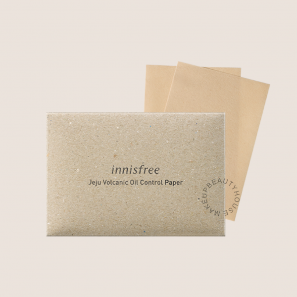 INNISFREE Beauty Tool Jeju Volcanic Oil Control Paper (50 sheets)