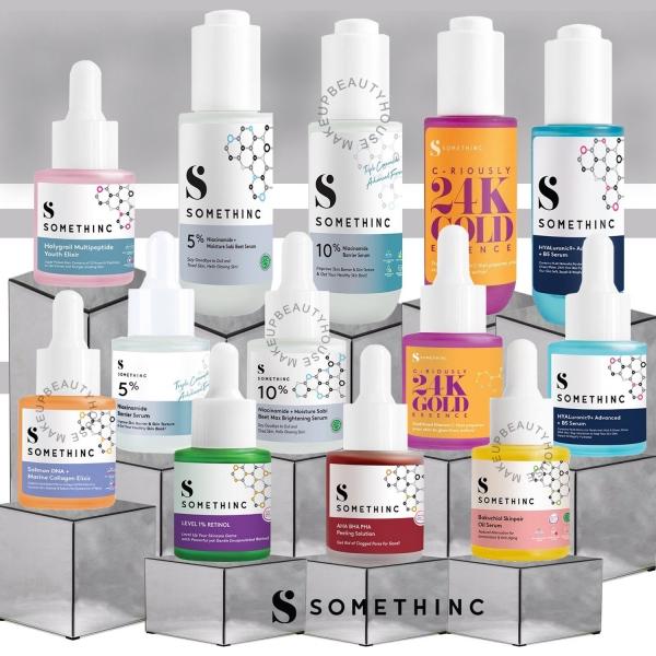 SOMETHINC Serum Series [Niacinamide/HYAluronic/Bakuchiol/AHA BHA/Salmon/Retinol/24K/Holygrail]